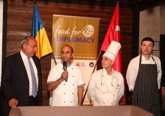 Проект «Кулінарна дипломатія» вперше відбувся у Києві